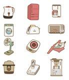 Cartoon Home Appliances icon Royalty Free Stock Photo