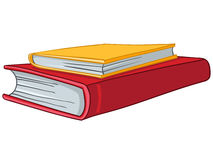 Cartoon Home Books Stock Image