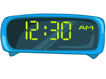 Cartoon Home Clock Stock Image