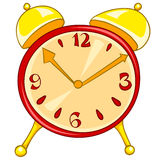 Cartoon Home Clock Stock Photo