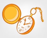 Cartoon Home Clock Stock Images