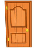 Cartoon Home Door Royalty Free Stock Image