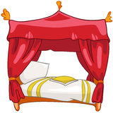 Cartoon Home Furniture Bed Royalty Free Stock Photos