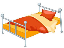 Cartoon Home Furniture Bed Stock Images