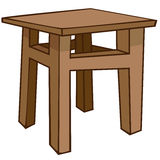 Cartoon Home Furniture Chair Stock Photography