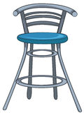 Cartoon Home Furniture Chair Royalty Free Stock Photos