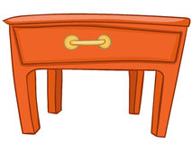 Cartoon Home Furniture Table Royalty Free Stock Photo