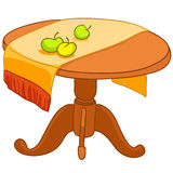 Cartoon Home Furniture Table Stock Photo