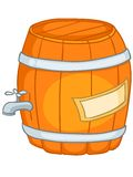 Cartoon Home Kitchen Barrel Royalty Free Stock Photography