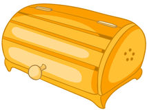 Cartoon Home Kitchen Bread Bin Royalty Free Stock Photos