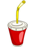 Cartoon Home Kitchen Cup Stock Image