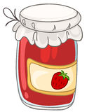 Cartoon Home Kitchen Jar Royalty Free Stock Photo