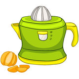 Cartoon Home Kitchen Juicer Royalty Free Stock Photography