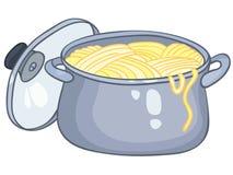 Cartoon Home Kitchen Pot Royalty Free Stock Photo