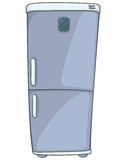 Cartoon Home Kitchen Refrigerator Royalty Free Stock Photography