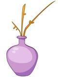 Cartoon Home Vase Stock Photography