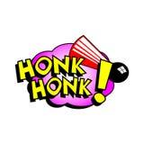 Cartoon Honk Honk Sound Stock Image