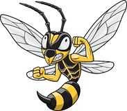 Free Cartoon Hornet Mascot Stock Images - 138788394