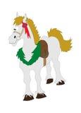 Cartoon Horse. Collection of cartoon animals horse royalty free illustration