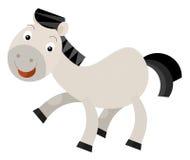 Cartoon horse Stock Photos