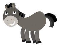 Cartoon horse Royalty Free Stock Photos