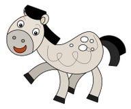 Cartoon horse Royalty Free Stock Photo