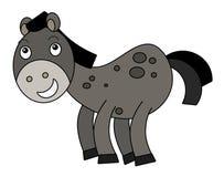 Cartoon horse Stock Images