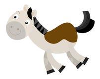 Cartoon horse Stock Photo