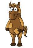 Cartoon horse character Royalty Free Stock Image