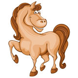 Cartoon horse Royalty Free Stock Photography