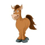 Cartoon horse Royalty Free Stock Image