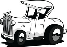 Cartoon Hot Rod Royalty Free Stock Images