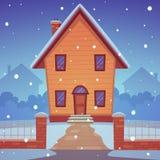 Cartoon House Royalty Free Stock Image