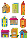 Cartoon house icon Royalty Free Stock Photography