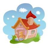 Cartoon house Stock Photography