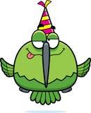 Cartoon Hummingbird Drunk Party Stock Image
