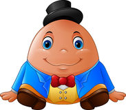 Cartoon Humpty Dumpty Stock Images