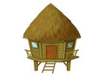 Cartoon hut Royalty Free Stock Photo