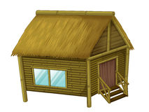 Cartoon hut Stock Image