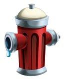 Cartoon hydrant -  Royalty Free Stock Photo