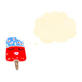 Cartoon ice lolly Royalty Free Stock Images