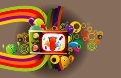 Cartoon illustration royalty free illustration