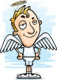Confident Cartoon Angel royalty free illustration