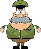 Cartoon Army General Royalty Free Stock Photos