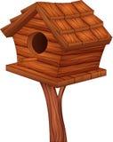 Cartoon illustration of bird house Stock Photos