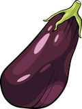 Eggplant vegetable cartoon illustration Royalty Free Stock Photography