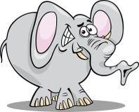 Cartoon illustration of elephant Royalty Free Stock Image
