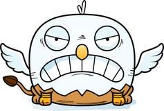 Angry Cartoon Griffin. A cartoon illustration of a griffin looking angry vector illustration