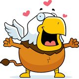 Cartoon Griffin Hug royalty free stock photography