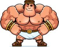 Cartoon Hercules Confident. A cartoon illustration of Hercules looking confident Stock Photography